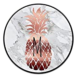 ShuangYuan Stylish Phone Holder and Mounts,Expanding Stand and Grip Pop Mount Socket for Smartphones&Tablets-Rose Gold Pineapple