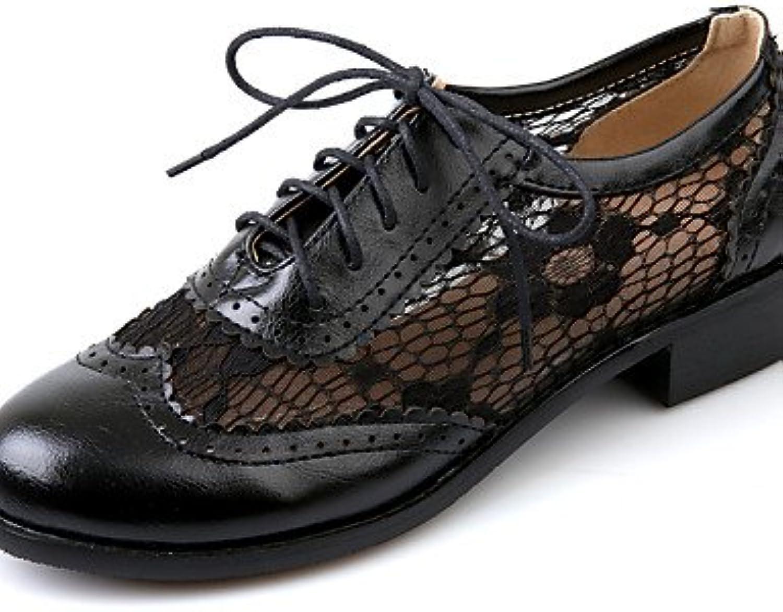 ZQ 2016 Zapatos de mujer - Tacón Robusto - Punta Redonda - Oxfords - Oficina y Trabajo / Vestido / Casual - Semicuero...