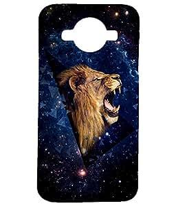 Letz Dezine Lion Printed Design Mobile Back Case Cover for Samsung Galaxy J2 (2016)