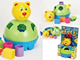 Funtime Teddy Bear Shape Sorter Brand New