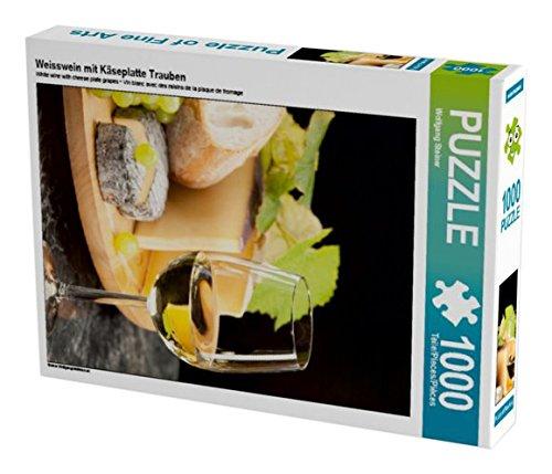 Preisvergleich Produktbild Weisswein mit Käseplatte Trauben 1000 Teile Puzzle hoch (CALVENDO Lifestyle)