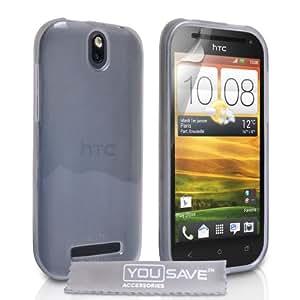 Yousave Accessories HT-DA02-Z069 Coque en silicone pour HTC One SV Clair
