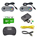 Bluelover Game Console Kit With USB Controller Gamepad For Raspberry Pi 3 Model B/RetroPie