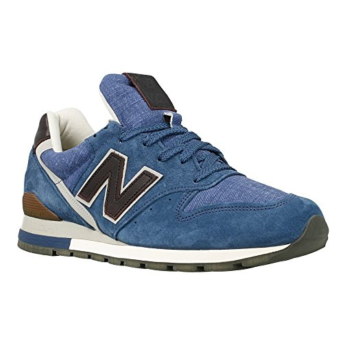 New Balance - 996 - M996DCLP - Couleur: Bleu-Marron - Pointure: 45.0