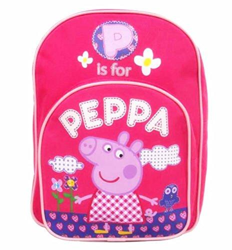 gerneric Sprechende Life Kinder Rucksack Schule Rucksack, Peppa Pig Taschen (Peppa Pig-schule-tasche)