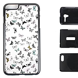 DooDa - For Lava Iris Fuel 60 Snap-on Silicon Shoulder & PU Leather Back Case Cover, Fancy Fashion Designer With Full Protection