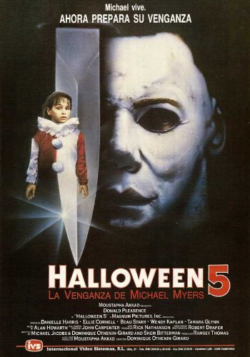 (Halloween 5: The Revenge of Michael Myers Plakat Movie Poster (11 x 17 Inches - 28cm x 44cm) (1989) Spanish)