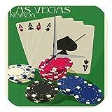 Reloj De Pared Pasión Viajes City Poker Las Vegas Plexiglas