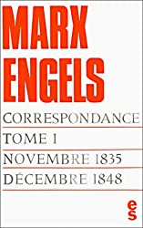 Correspondance, tome I