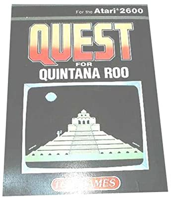 Quest For Quintana Roo ( Atari 2600 ) by Telegames Ltd