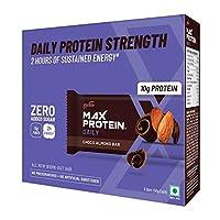 Ritebite Max Protein Daily Choco Almond Bars 300g Pack of 6 (50g x 6)