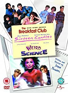 John Hughes Movie Collection Box set - Breakfast Club / Weird Science / Sixteen Candles [DVD]