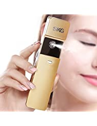 SKG Premium Handheld Nano Ionic Cool Mist Face Hydration Sprayer - 10x More Effective Than Facial Lotion - Portable USB Face Hydration Spray -