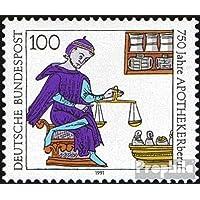 sellos para coleccionistas: RFA (RFA.Alemania) 1490 (completa.edición) nuevo con goma original 1991 Profesión farmacéutica