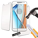 i-Tronixs (5 Zoll 1er-Pack) Vernee Thor 4g Univeral ausgeglichene Glas-Schirm-Schutz-Abdeckung 9H Glas Anti-Scratch Shatter-Proof [Universal
