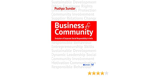 business and community sundar pushpa