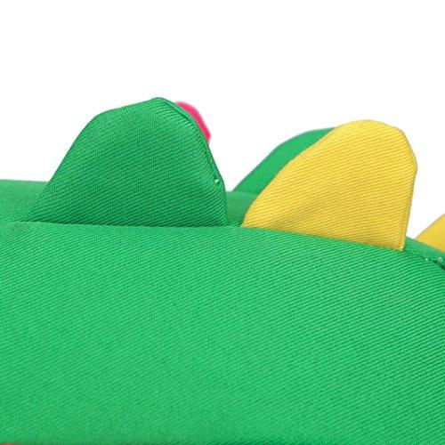 Baby Zaino, Bambino Girsl Ragazzi Lucertola Cartoon Cerniera Zaino Scuola Borse Spalla Borsa by Kangrunmy Verde