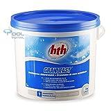 hth GRANUFAST Chlorgranulat 5,0 kg Eimer - Chlor Granulat schnell löslich