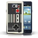 Etui / Coque pour Samsung Galaxy S2/SII / Nintendo conception / Collection de Console (jeux vidéo)