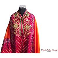 annata dupatta home decor lunga stola tenda tessuto artigianale misto seta georgette drappo donne indiane sciarpa dell'involucro utilizzati velo hijab bandhani abito sari stampati Rajasthan cucire sipario drappo 80