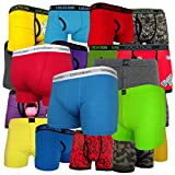 12 Pack Mens Location Boxer Shorts Trunks Underwear L