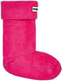 Hunter Kids Boot Sock Fuchsia Textile Wellingtons Boots