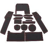 Bucada Rot Anti-Staub Rutschfeste Innentür, Tasse, Arm Box, lagerung Matte