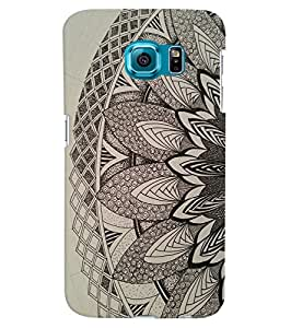 Citydreamz Traditional Pattern\Rangoli Design Hard Polycarbonate Designer Back Case Cover For Samsung Galaxy S6