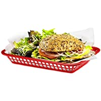 Grande Serving Basket Red 27x20x4cm | American Diner Basket, Fast