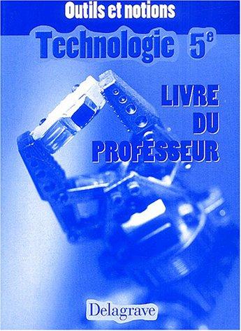 Technologie cinquième professeur