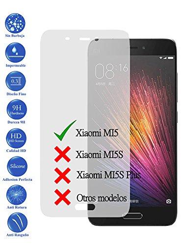 Protector de Pantalla Cristal Templado Vidrio Premium para Xiaomi M5 MI5 710F