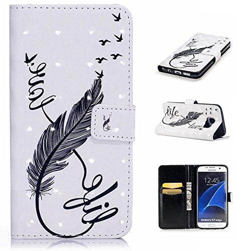 Samsung-Galaxy-S7-Edge-Custodia-Samsung-Galaxy-S7-Edge-Wallet-Case-Cozy-Hut-Samsung-Galaxy-S7-Edge-Custodia-Divertente-Fashionable-Cute-Design-Pattern-Folio-Custodia-Protettiva-in-Pelle-PU-Con-Wallet-