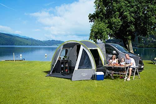 Berger Busvorzelt Touring Easy Camping Vorzelt Zelt WS3000mm Tunnelzelt Familienzelt Moskitogaze