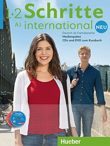Schritte international Neu 1+2. 5 Audio-CDs und 1 DVD zum Kursbuch. Medienpaket by Daniela Niebisch (2016-02-01)
