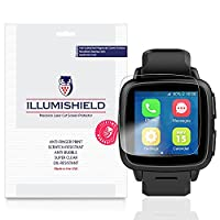 iLLumiShield - Omate TrueSmart-i Screen Protector Japanese Ultra Clear HD Film with Anti-Bubble and Anti-Fingerprint - High Quality Invisible Shield - Lifetime Warranty - [3-Pack]