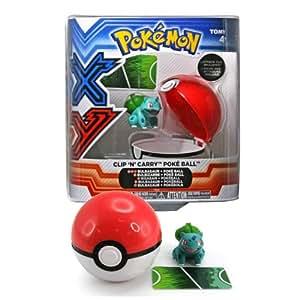 Pokemon X and Y Bulbasaur Clip-n-Carry Poke Ball