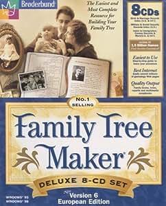 Family Tree Maker V6 8CD Set