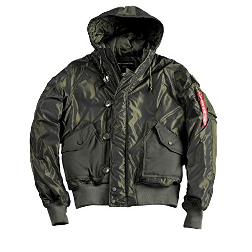 Alpha Industries Herren Jacken / Winterjacke Hunter Dark Green