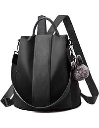 Charmore Damen Rucksack Wasserdichte Nylon Schultaschen Anti-Diebstahl Tagesrucksack Schultertaschen
