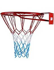 Kimet Hang Ring Basketball Basket Basketball Basketball Ring and Net Quality and Safety Tested, Dimensions: Ø 45cm to 37cm (You Can Choose)