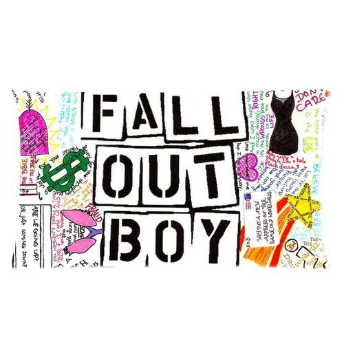 generic-personalized-american-chicago-idol-group-music-band-series-fall-out-boy-funny-cool-graffiti-