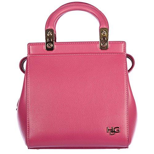 Givenchy borsa donna a mano shopping in pelle nuova vintage mini top hdg fucsia