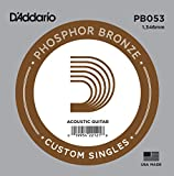 D'Addario PB053 Corda Singola Acustica Phosphore BRZ Round