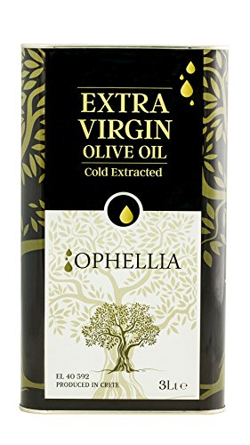 Ophellia 2019 Huile d'Olive Extra Vierge Crétoise 3 Litres
