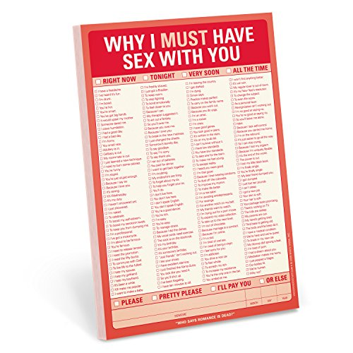 Knock Knock Pad: Why I Must Have Sex with You por Knock Knock