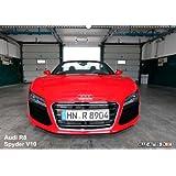 Vollblut-Sportler (Wandkalender 2014 DIN A4 quer): Audi R8 Spyder V10 5.2 FSI (Monatskalender, 14 Seiten)