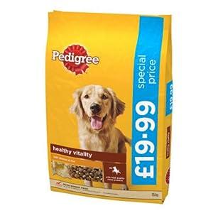 Pedigree Pedigree Dry Dog Food Chicken and Rice 15kg