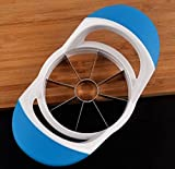 Smart Kitchen Coupe-Pomme Trancheur à 8 Lames - Lames de Coupe en Acier Inoxydable Ultra Aiguisées - Poignées Ergonomiques Confortables - Se Range à Plat dans n'importe Quel Tiroir