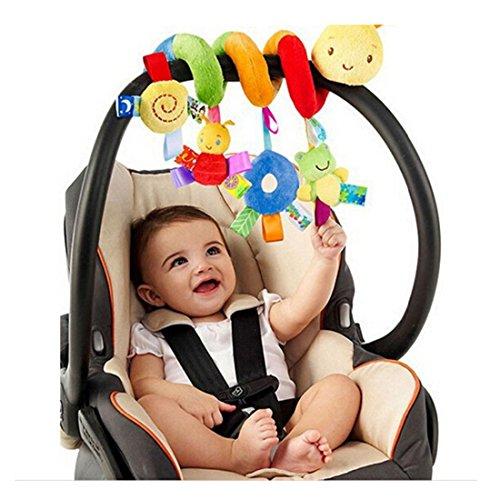 Albeey Baby Pram Spirale Rassel Spielzeug Kinderwagen Krippe Hängendes Spielzeug - Eine Baby-krippe