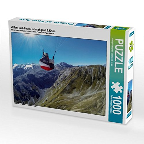 stilfser joch I trafoi I vinschgau I 2.906 m 1000 Teile Puzzle quer (CALVENDO Sport) (Klassische Joch)